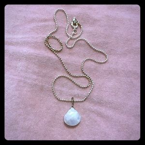 Moonstone Pendent Necklace